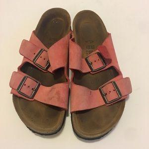 Birkenstock Suede Sandals Size 8